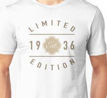1936 Limited Edition Unisex T-Shirt