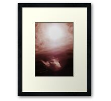 Aliens in the Sky Framed Print