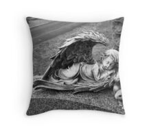 A Precious Angel for A Son Departed Throw Pillow