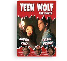 Teen Wolf Old Comic [Scott & Kira] Canvas Print
