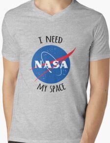 I Need My Space (NASA) Mens V-Neck T-Shirt