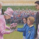 Kingtonians Greet Jubilee Queen by JayteesArt