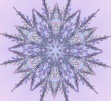 Lavender Snowflake  by Tori Snow