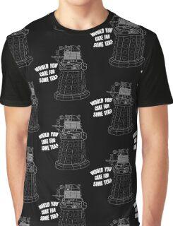 Dalek Cuppa Graphic T-Shirt