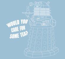 Dalek Cuppa Kids Tee