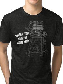 Dalek Cuppa Tri-blend T-Shirt
