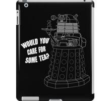 Dalek Cuppa iPad Case/Skin