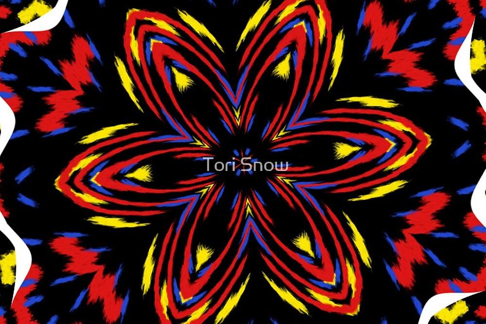 Fire Flower Fractal by Tori Snow