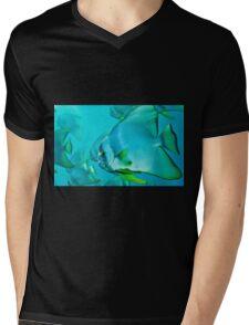 Blue Fish Mens V-Neck T-Shirt