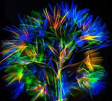 Glow stick fun by Doug Cliff