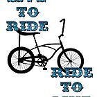 Live to ride by sledgehammer
