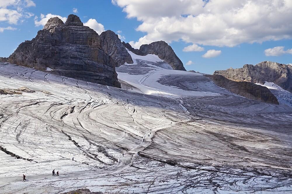 Dachstein glaciers II by Vladimir Rudyak