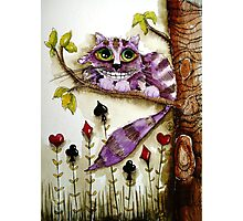 The Cheshire Cat Photographic Print