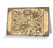 La Mappa del Malandrino Greeting Card