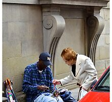 Street negotiation by Matthieu PANNIER