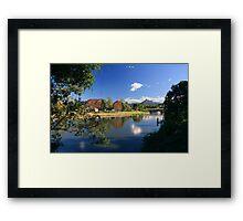 Autumn in Murwillumbah... Framed Print