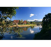 Autumn in Murwillumbah... Photographic Print