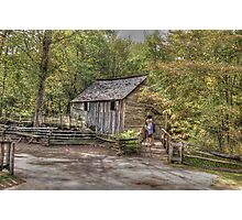Vacation in The Smokies Photographic Print