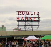 Pike Place Public Market Sticker