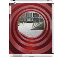 Red Spiral iPad Case/Skin