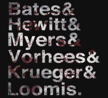 Horror Icon List Bloody by Konoko479