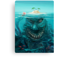 The Island Trap  Canvas Print