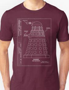Bracewell's Ironside (Dalek) Blueprints T-Shirt