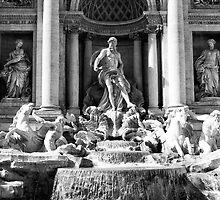 Fontana di Trevi by Erny1974