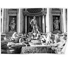 Fontana di Trevi Poster