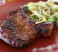 grilled pork chops by vigor