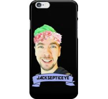 jacksepticeye with a flower crown iPhone Case/Skin