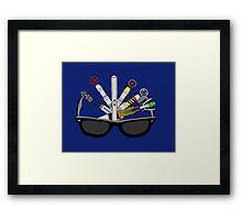 sonic doctor Framed Print