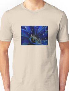 Blue Macro Unisex T-Shirt