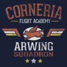 Arwing Squadron by TeeKetch