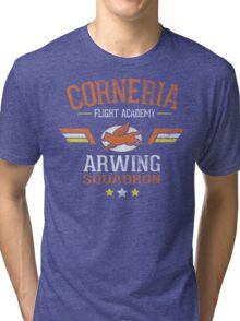 Arwing Squadron Tri-blend T-Shirt
