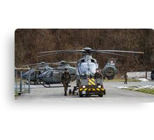 Swiss Air Force Eurocopter EC635 Canvas Print