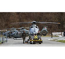 Swiss Air Force Eurocopter EC635 Photographic Print