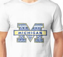 University of Michigan Drawing Unisex T-Shirt