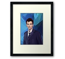 Dr 10 fragged Framed Print