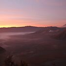Mt. Bromo in sunrise by Antti Muranen