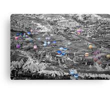 Multiple balloons Canvas Print