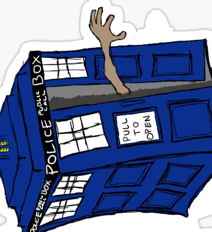 What if Gollum had TARDIS... Sticker