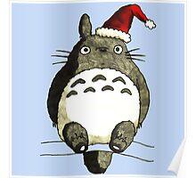 Totoro Christmas Poster