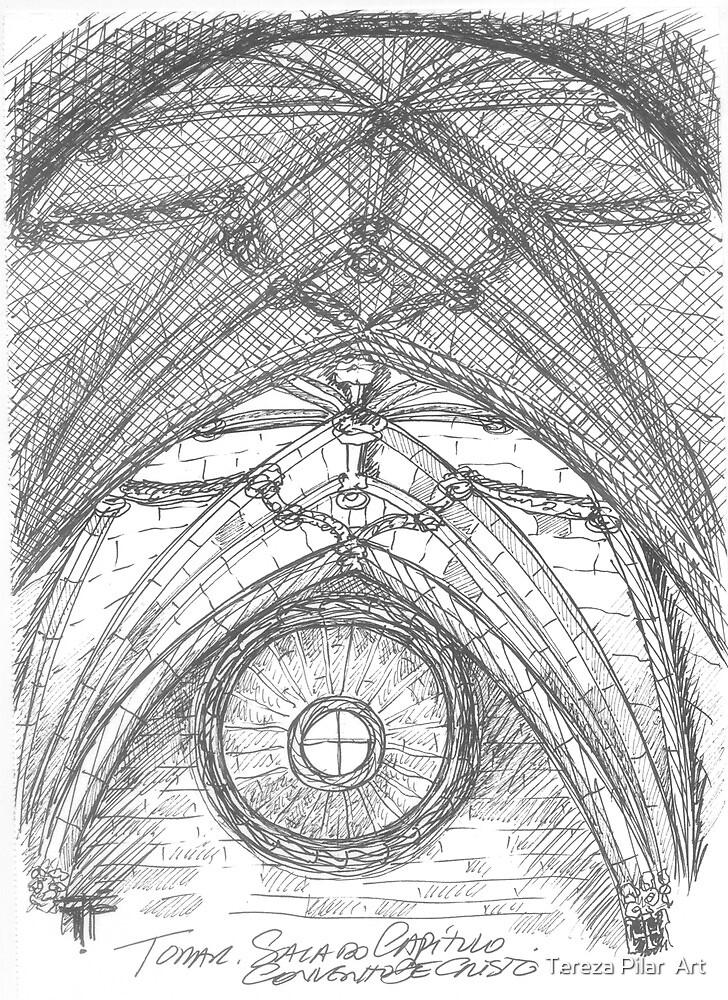 Tomar . Sala do Capítulo. Chapter Hall. by terezadelpilar~ art & architecture