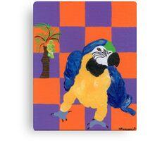 Pop Parrot Canvas Print