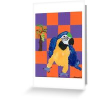 Pop Parrot Greeting Card