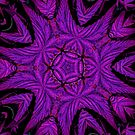 Mean Purple Fractal by FloraDiabla
