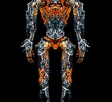 BATTLE ROBOT by Milos Trando