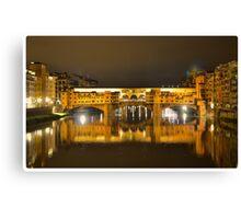 Firenze - Ponte Vecchio Canvas Print