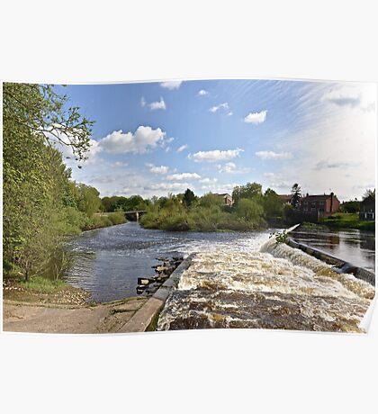 The Weir @ Boroughbridge Poster